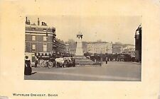 DOVER UK WATERLOO CRESCENT~HORSE DRAWN COACH~ARCADIA BAZAAR SERIES POSTCARD 1910