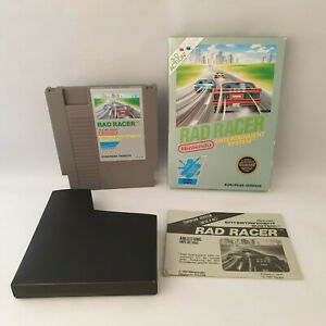 Nintendo NES - Rad Racer (European Version) - Complete in Box CIB