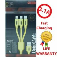 PwrON 6ft 5v 2 Amp Travel Wall Charger Micro USB Cable for Sony Xperia Z3 Z1 Z2
