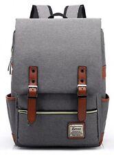 Kenox Vintage Laptop Backpack College Backpack School Bag Fits 15 inch Laptop