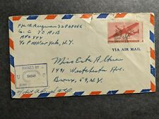 Apo 444 Germany 1945 Censored Wwii Army Cover 70 Aib Armored Infantry Bn