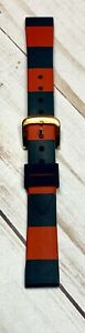 Kate Spade 16mm Rubber Blue & Red Watch Band Brand New with out Tag!