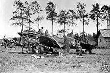 Maintenance- Curtiss P-40 by Volunteer Group Flying Tigers at Kumming China-1941