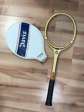 Vintage Tad Davis Classic Tennis Racquet & Cover Clasiden Laminated Made In Usa