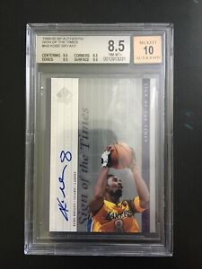 1999-2000 Kobe Bryant SP Authentic Signs Of The Times Auto BGS 8.5 Autograph 10