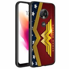Wonder Woman #S Impact Slim Hybrid Cover Case for T-Mobile Revvlry Plus