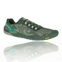 Merrell Mens Vapor Glove 4 Trail Running Shoes Trainers Sneakers Green Sports