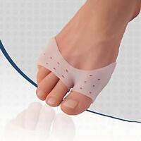 2pcs Silicone Toe Hallux Valgus Separators Straighteners Bunion Relief KI