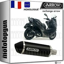 ARROW POT ECHAPPEMENT HOM URBAN ALUMINIUM NOIR KYMCO XCITING 400 I S 2019 19
