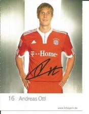 FC Bayern München Autogrammkarte Andreas Ottl