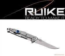 RUIKE Knives P108-SF Blue Stonewashed Taschenmesser pocket knife Framelock