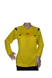 adidas Damen Langarm Schiedsrichter Trikot Referee 14, Vivid Yellow / L