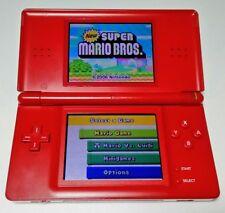 Nintendo DS Lite Red Handheld System **FREE UK P&P**