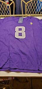 Minnesota Vikings Kirk Cousins Women's  NFL Proline Team Apparel  shirt  3XL L/S