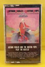 Arthur Fiedler & The Boston Pops Play The BEATLES - Cassette VERY RARE HTF NEW