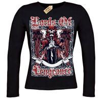 Lords of vengeance T-Shirt skull gothic skeleton ladies long sleeve