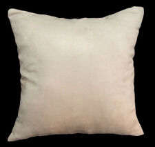 Mg13a Tan Soft Faux Micro Suede Fabric Cushion Cover/Pillow Case*Custom Size*