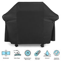 BBQ Grill Cover 4 Burners Waterproof Outdoor UV Gas Charcoal Barbecue Protector