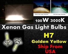 High Quality Xenon Gas Filled Light Bulb -12v 100w Golden Yellow H7 Fog Light