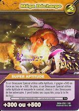 Carte DINOSAUR KING Attaque Alpha MEGA DECHARGE DKAA 058/100
