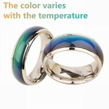 Steel Rings Mood Ring Men Gift New Change Color Ring Temperature Stainless