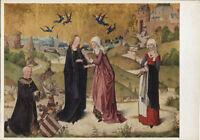Alte Kunstpostkarte - Heimsuchung der Maria bei Elisabeth