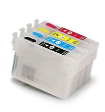 Refillable Ink Cartridges For EPSON # 60 C88 CX3800-CX4200CX4800 CX5800F CX7800