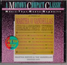 Martha & The Vandellas 60's Greatest Hits  Motown CD 1991 Heat Wave