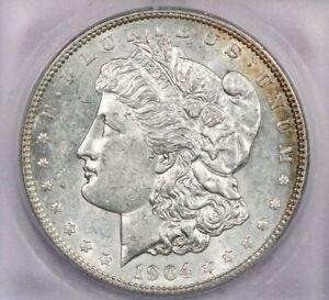 1904-P 1904 Morgan Silver Dollar S$1 ICG MS60