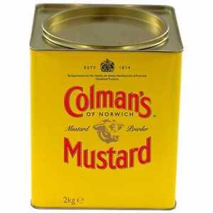 Colman's Professional English Mustard Powder - 1x2kg