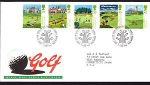 GB FDC Scott 1567-1571, 1994 Honorable Company of Edinburg, set of 5
