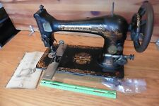 Singer Sewing Machine Sphinx No 27 Vintage Egyptian Design Antique table style
