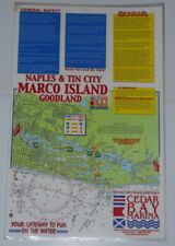 Naples Tin City Marco Island Goodland Laminated Navigation Map to Cedar Bay