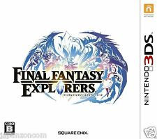 Used Final Fantasy Explorers SQUARE ENIX NINTENDO 3DS JAPANESE  IMPORT