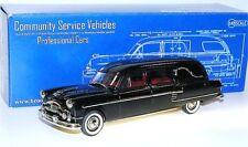 Brooklin models csv.17, 1954 Henney-Packard Landaulet Funeral Coach, Hearse, 1/43