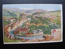 AK Kurort  Baden Schweiz Aargau Künstlerkarte signiert