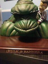 Earth X Hulk & Banner resin bust