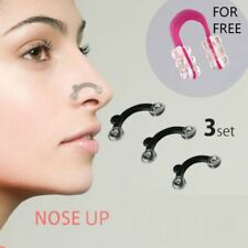 NEW! 7 Pcs Nose Up Lifting Shaping Clip Set Clipper Shaper Beauty Tool 3 Size