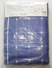 New IKEA Faltarv B King Size Quilt Duvet Cover 2 King Pillowshams 100% Cotton