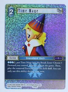 Final Fantasy TCG - Time Mage - 3-043C - Opus 3 - Foil