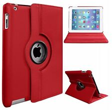 "For iPad 9.7"" 2018 Pro 10.5"" 11"" 12.9"" 360° Rotating PU Leather Smart Cover Case"
