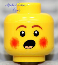 NEW Lego Boy Girl Carol MINIFIG HEAD Christmas Caroler -Surprise Face Baby Child