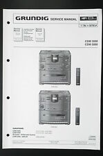 GRUNDIG CDM 3000/CDM 5000 Original Service-Manual/Anleitung/Schaltplan! o29