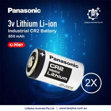 Genuine 2x Panasonic 3V CR2 Lithium Battery CR15H270 CR15270 15270 15266 DLCR2