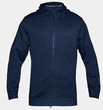 Under Armour Men's Sportstyle SweaterFleece Full Zip Hoodie - XL - Navy - New