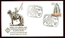 Spain 1983 Militaria Cover #C4451