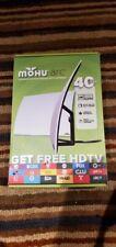 Mohu Arc Designer Edition indoor HDTV Curved Antenna White 4k 1080p premium