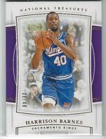 2019-20 Panini National Treasures 08/49 Harrison Barnes #29 SAC Kings NBA 🏀