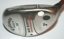 Callaway Big Bertha Heavenwood 3 Hybrid / Callaway RCH75w regular flex shaft