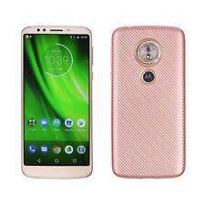 Shockproof Silicone Soft Case Phone Skin Cover For Motorola Moto G6 E4 E5 Plus